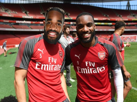Alexandre Lacazette admits he struggles to talk to his Arsenal team-mates
