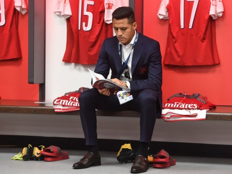 Alexis Sanchez could be frustrated by Alexandre Lacazette competition, says Gary Neville