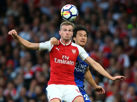 Arsenal defender Rob Holding lost confidence after 4-3 match with Leicester, says Arsene Wenger