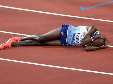 5,000m winner Muktar Edris labelled a disgrace for trolling Mo Farah with The Mobot