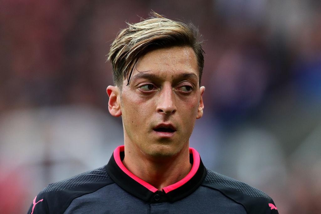 Stoke police troll Mesut Ozil after below-par display from the German playmaker