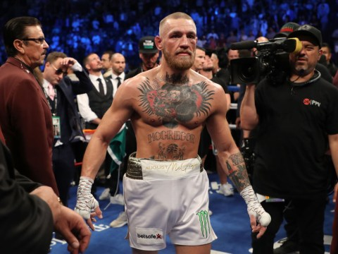 Conor McGregor believes stoppage against Floyd Mayweather was pre-mature