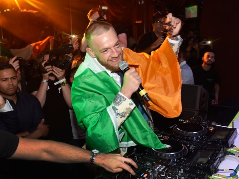 Conor McGregor spent 'most' of his post-fight party in Las Vegas talking to Robbie Keane