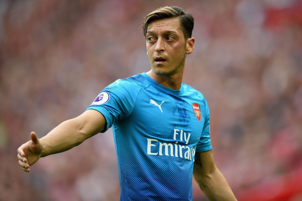 Barcelona eyed transfer of Arsenal's Mesut Ozil earlier this summer