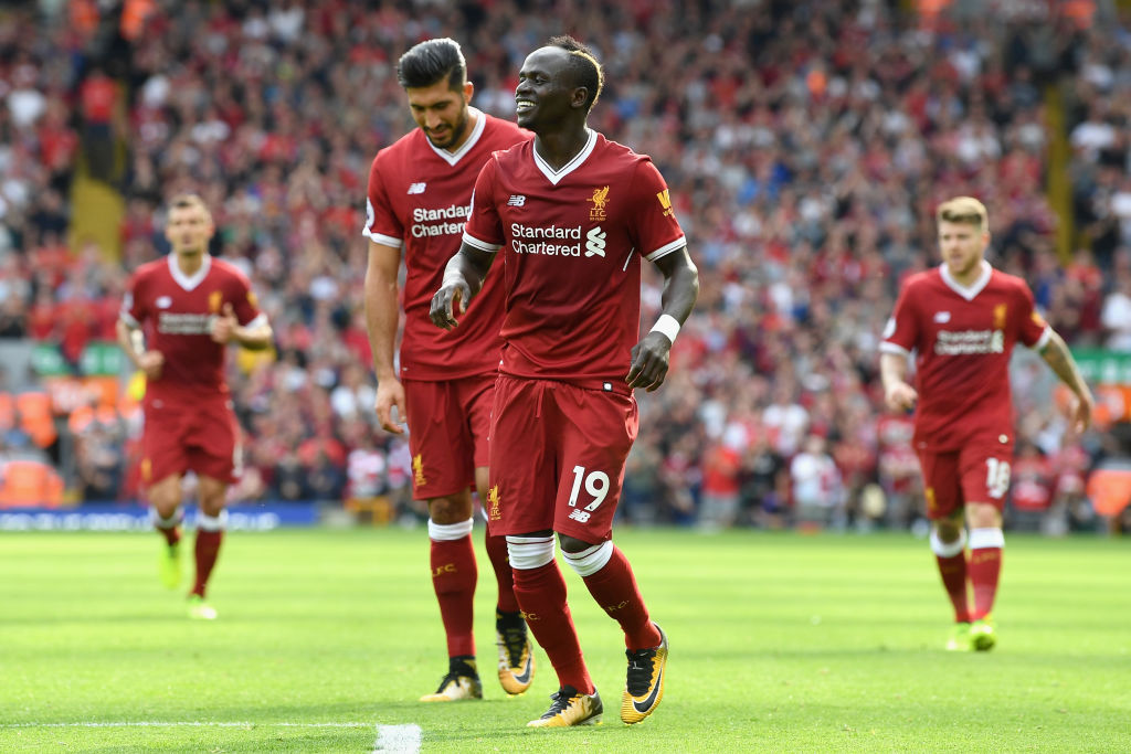 Sadio Mane joins elite Liverpool group with goal against Arsenal