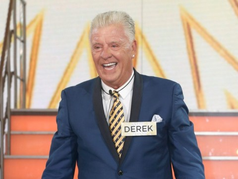 Derek Acorah has taken his 'spiritual guardian' into the Celebrity Big Brother house