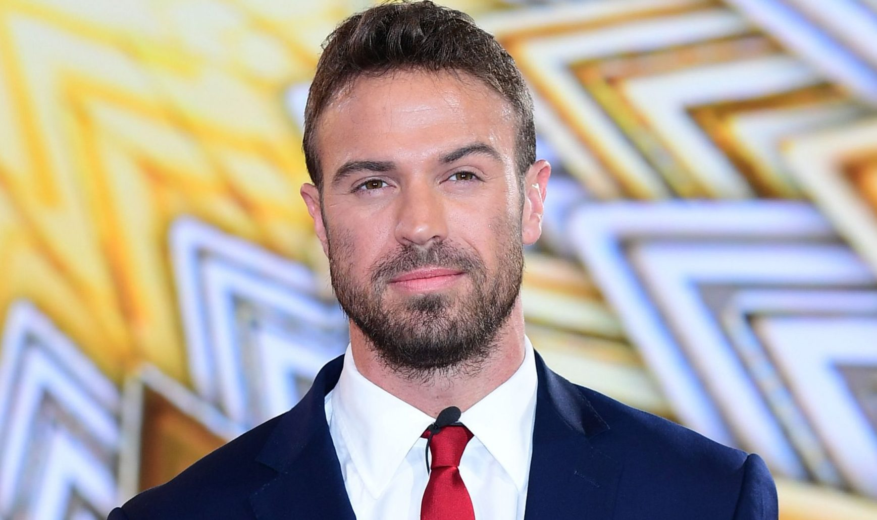 Chad Johnson is evicted during the live final of Celebrity Big Brother, at Elstree Studios in Borehamwood, Hertfordshire. PRESS ASSOCIATION Photo. Picture date: Friday August 25, 2017. Photo credit should read: Ian West/PA Wire.