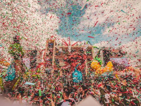 Elrow Town London: The music, costumes and party atmosphere made this a great festival