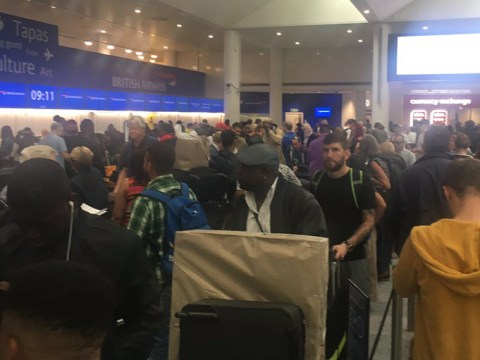 Chaos at Heathrow Airport after British Airways systems crash