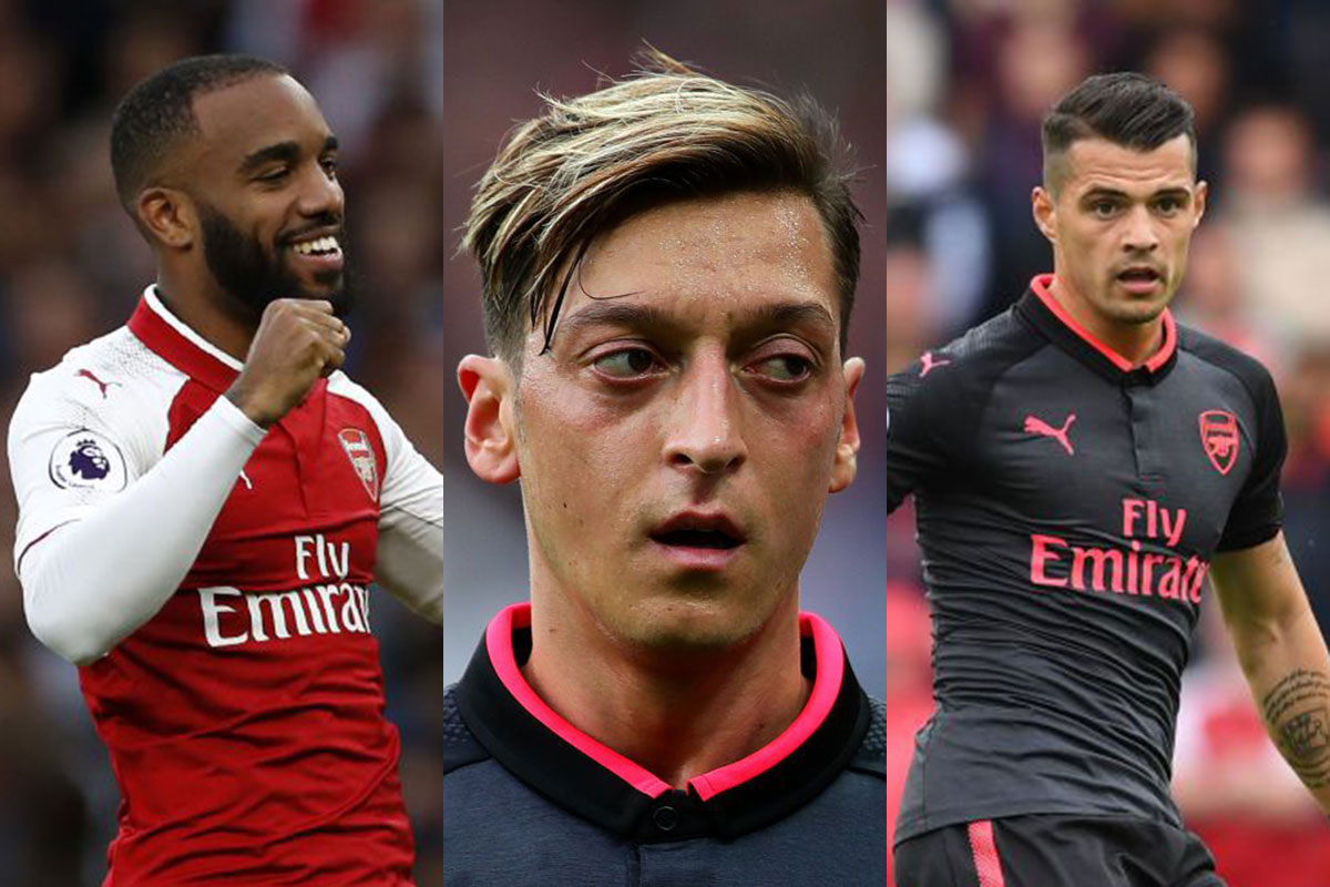 Arsenal legend Gilberto Silva gives his opinion on Mesut Ozil, Granit Xhaka and Alexandre Lacazette