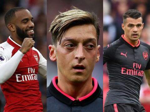 Arsenal legend Gilberto Silva gives his opinion on Mesut Ozil, Granit Xhaka and Alexandre Lacazette