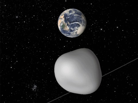 Nasa to test 'planetary defence system' as asteroid heads to earth