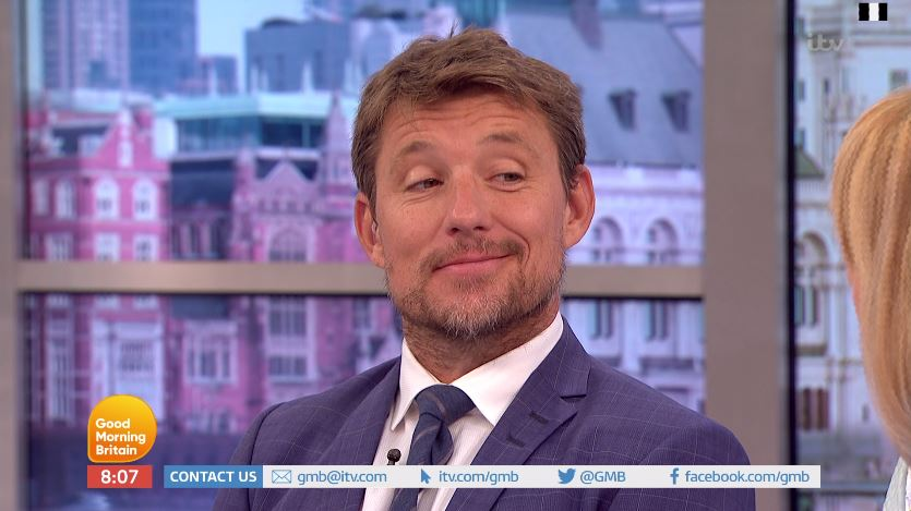 Ben Shephard admits his dad is embarrassed by his beard as he debuts his 'Game Of Thrones look'