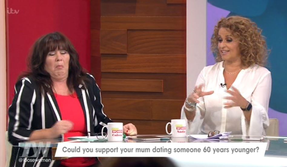 Coleen Nolan retches after considering her sons' kinks in the bedroom