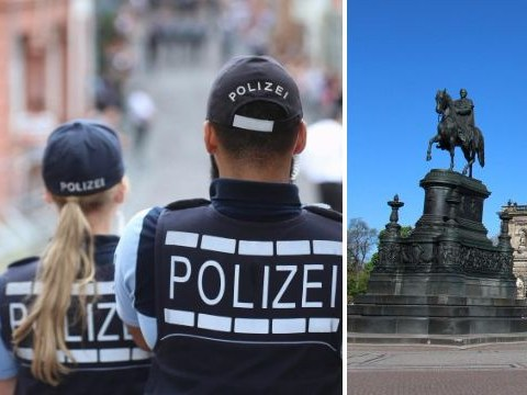 Drunk US tourist beaten up after giving Nazi salute in Germany