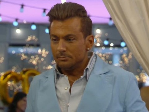 Paul Danan awkwardly hesitates when asked if he is single – even though he's with the mother of his son