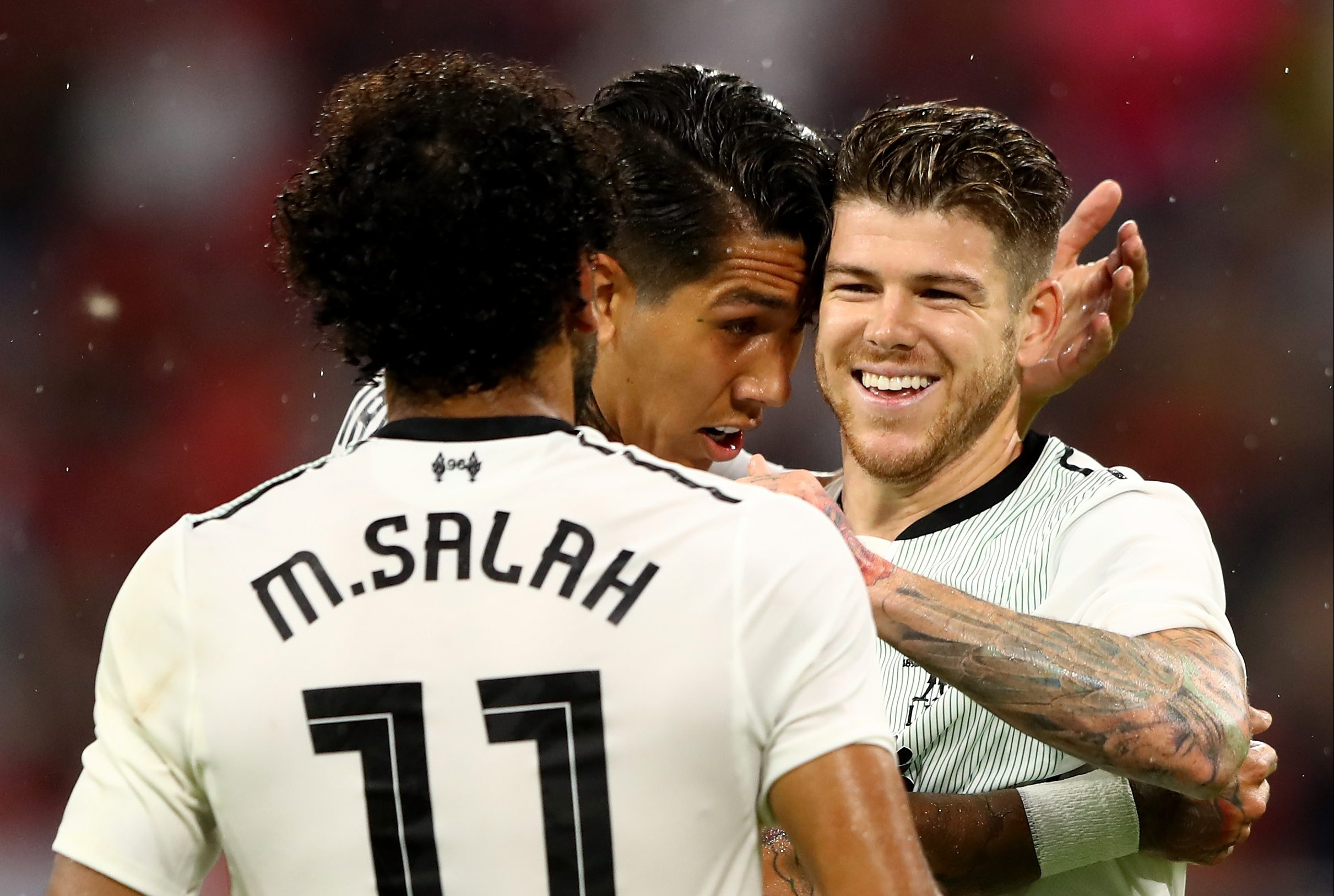 Liverpool fans hail 'new signing' Alberto Moreno after superb performance against Bayern Munich