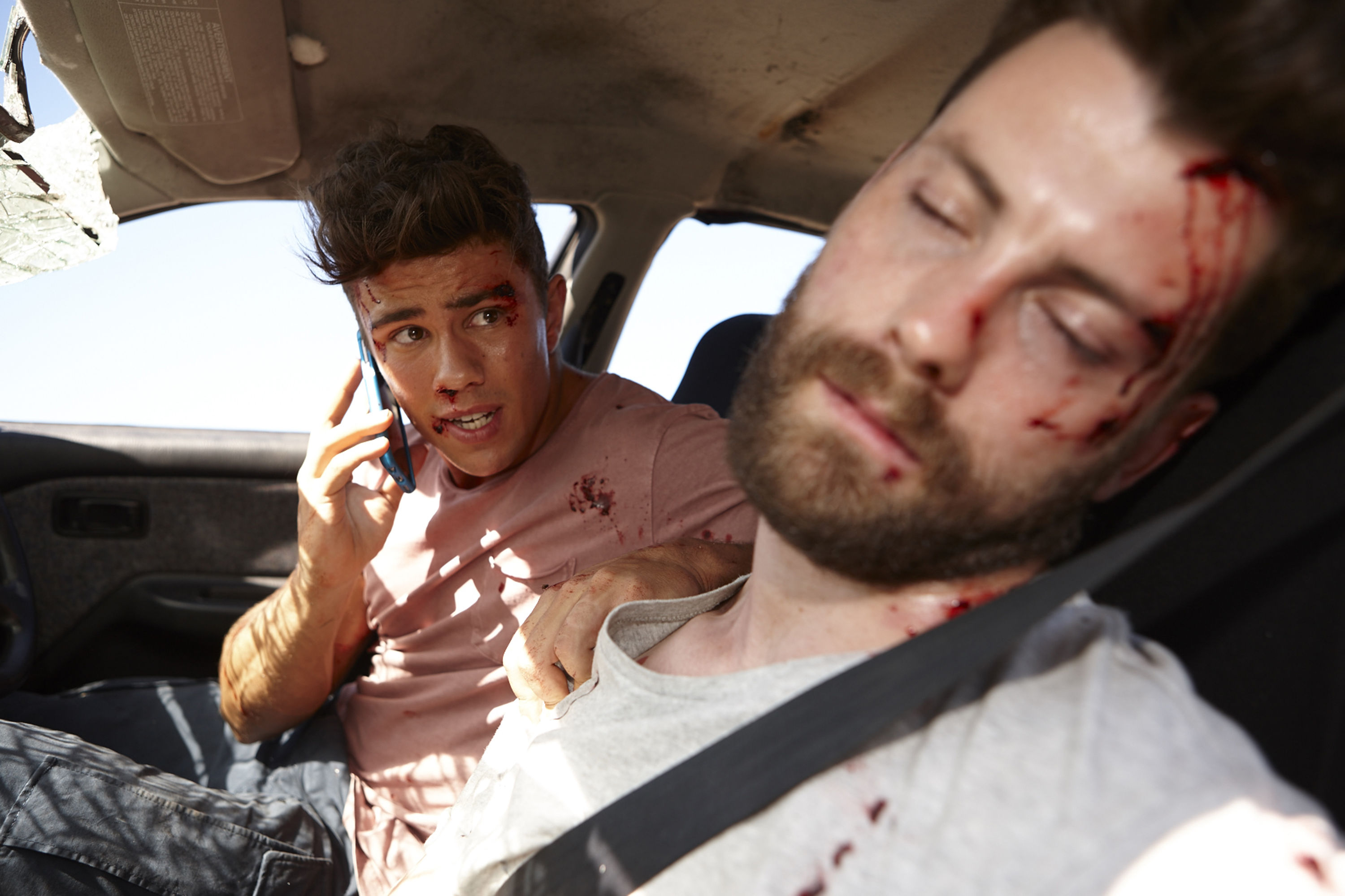 Home and Away spoilers: Brody and Mason run off the road in massive crash – will they survive?