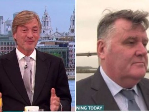 Richard Madeley says Good Morning Britain guest is the spitting image of Robbie Coltrane – but he isn't happy