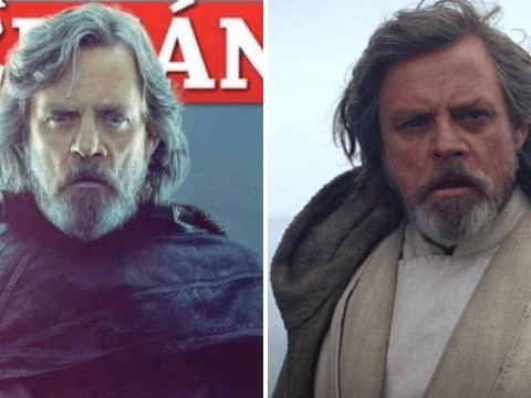 Has Luke Skywalker gone to the dark side? Brand new Star Wars picture looks ominous
