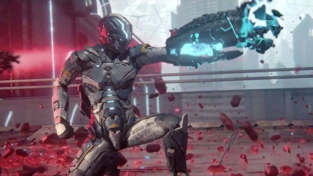 Matterfall (PS4) - even the character design is disappointing