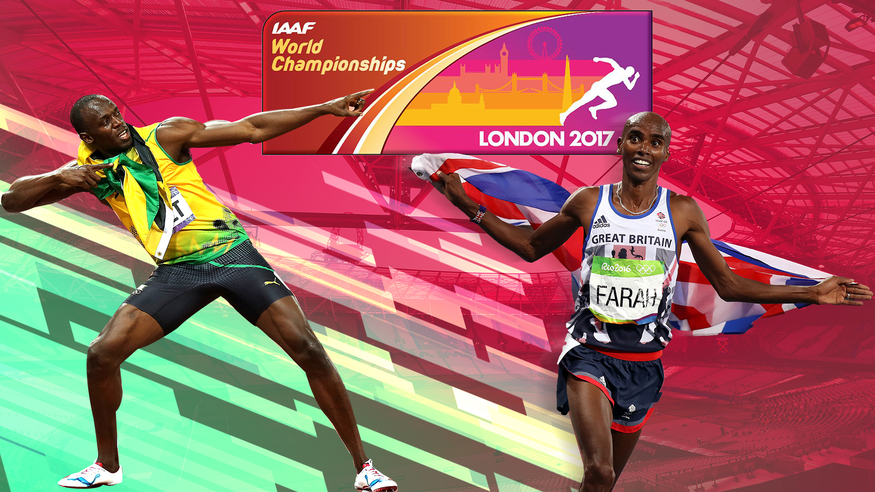Mo Farah and Usain Bolt return to London in search of gold – will it be the 2012 spirit all over again?