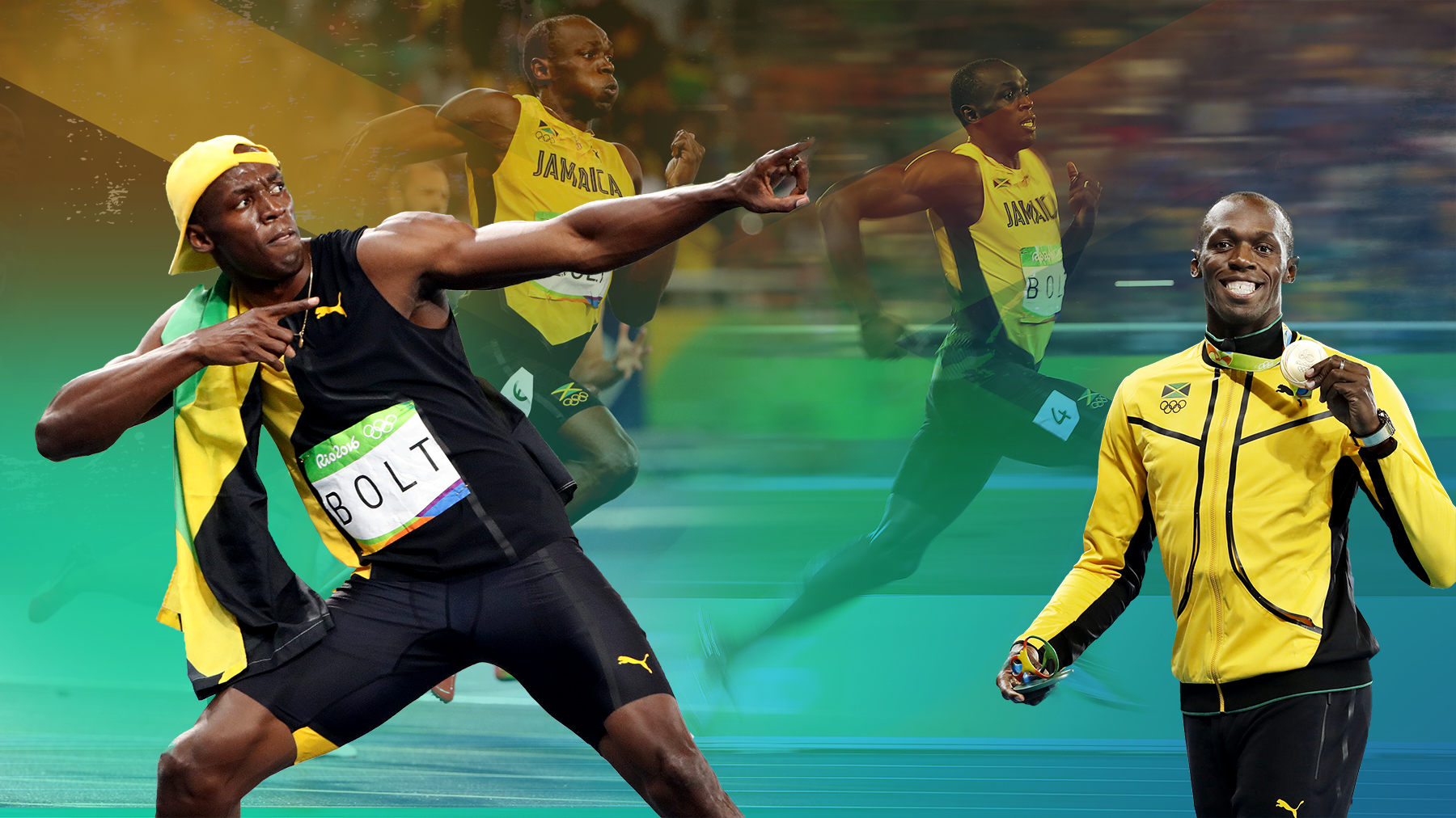 Usain Bolt: The numbers, the quotes and the races that made a legend