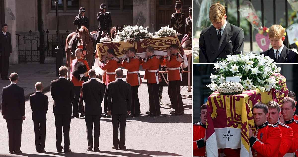 Footage from Princess Diana's funeral is just as haunting today as it was 20 years ago