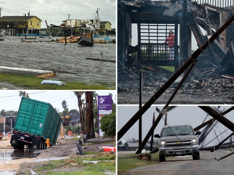 Unstoppable destruction as Hurricane Harvey claims six victims