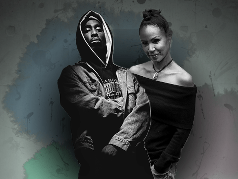 Tupac tried really hard to recruit Jada Pinkett Smith into all-girls rap group once