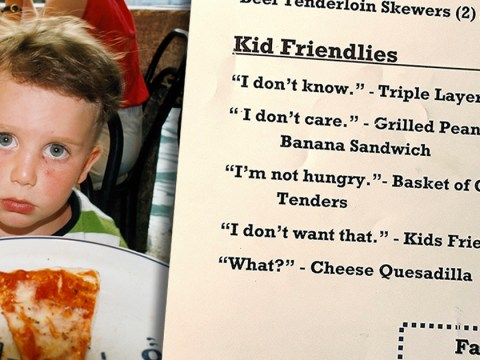 Restaurant comes up with the perfect way make ordering for kids much easier