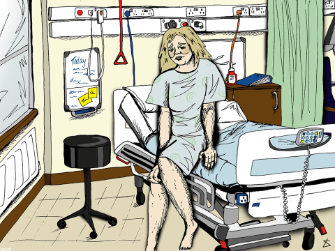 What it's really like to be a patient in a mental health unit