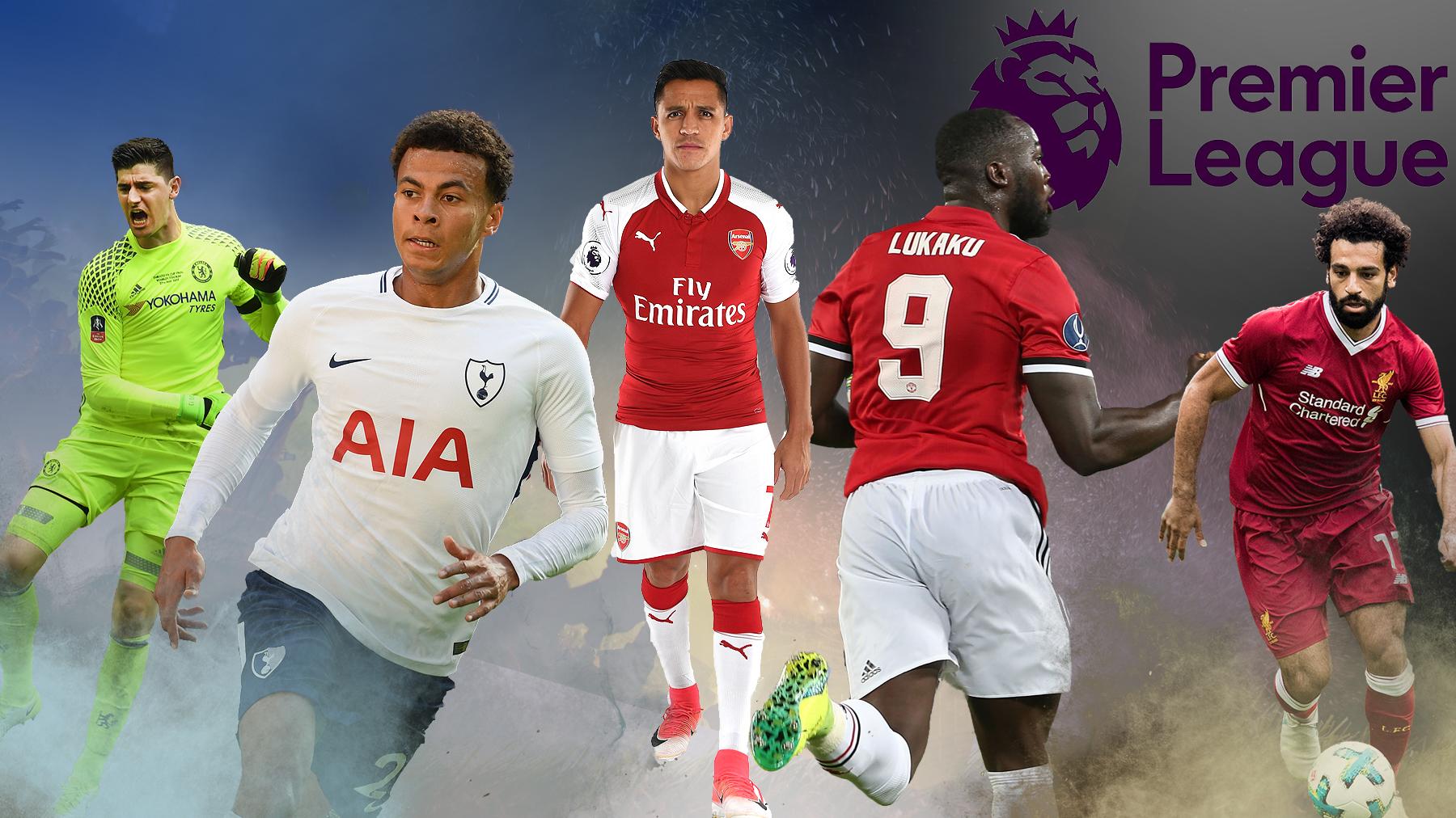 Romelu Lukaku and Thibaut Courtois among the five players who can shape the 2017/18 Premier League season