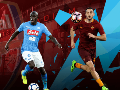 Five potential Arsenal transfer targets in defence, including Kalidou Koulibaly and Kostas Manolas