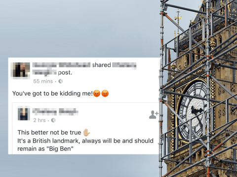 People actually believed that Big Ben was going to be renamed 'Massive Mohammed'