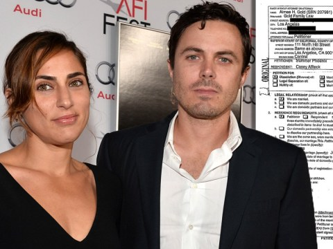 See divorce document: Casey Affleck and Summer Phoenix make split official filing for divorce