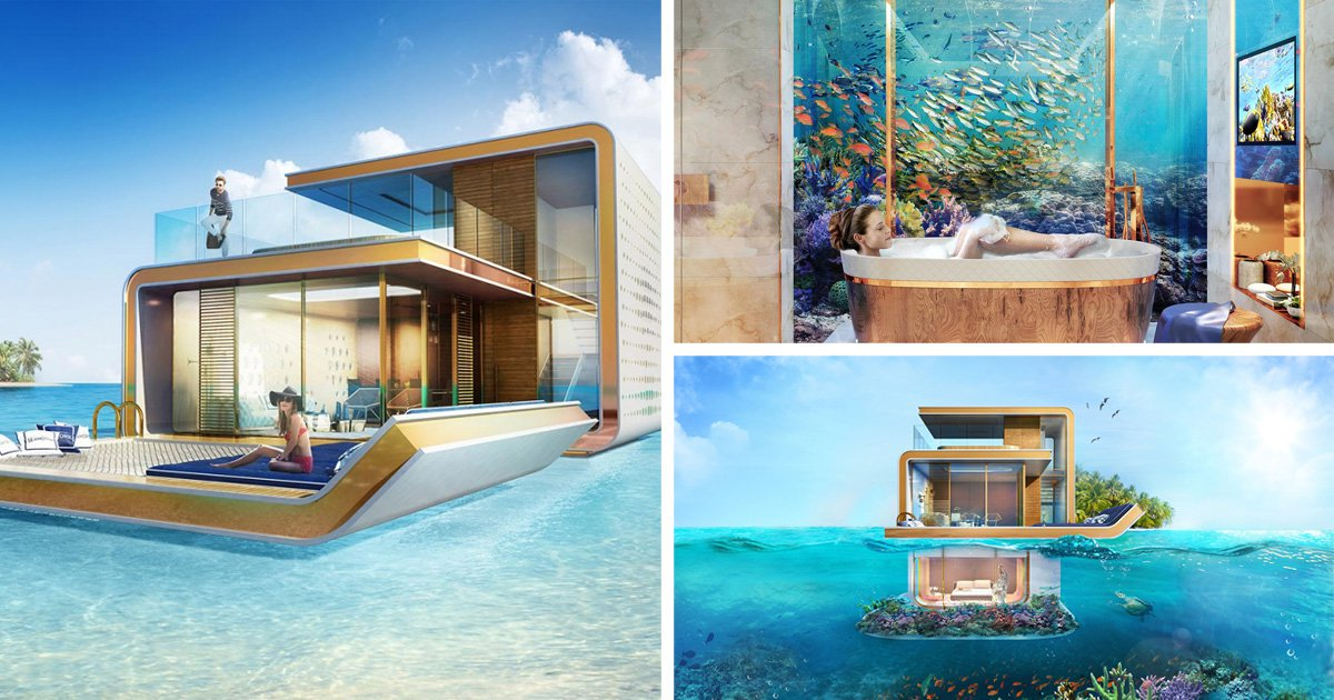 The Battle For Luxury Homes In Dubai Has Gone To Sea (Picture: Kleindienst  Group)