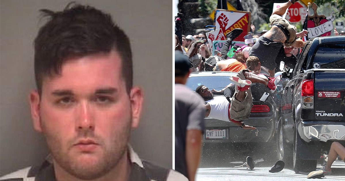 Man charged with murder over car attack at anti-far right protest in Virginia