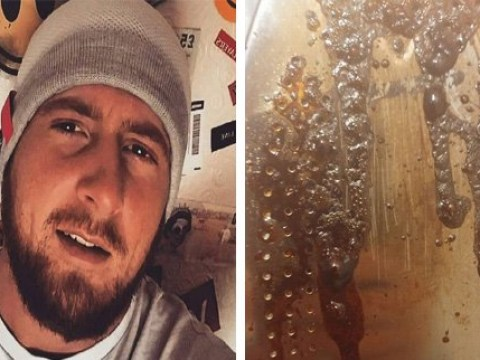 Man proves why you shouldn't use flavoured water to iron your clothes