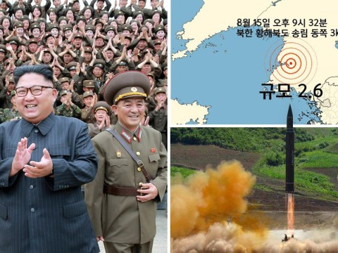 Earthquake recorded in North Korea sparking fears of nuclear test by Kim Jong-un