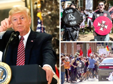 Trump says there were 'very fine people' on both sides of Charlottesville protest