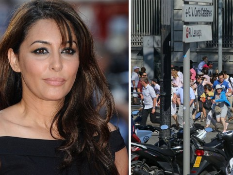 Former Holby City star Laila Rouass 'hid in a freezer' during Barcelona attack