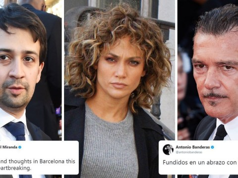 Jennifer Lopez and Elijah Wood lead celebrity tributes to victims of Barcelona terror attack