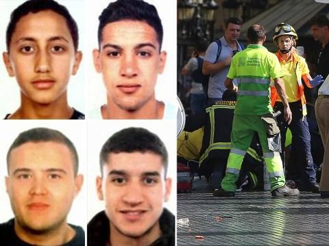 Manhunt for the Barcelona van attack suspect, 22, still on the run