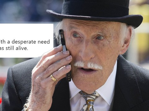 Woman sends unfortunate tweet just hours before it was announced Bruce Forsyth had died