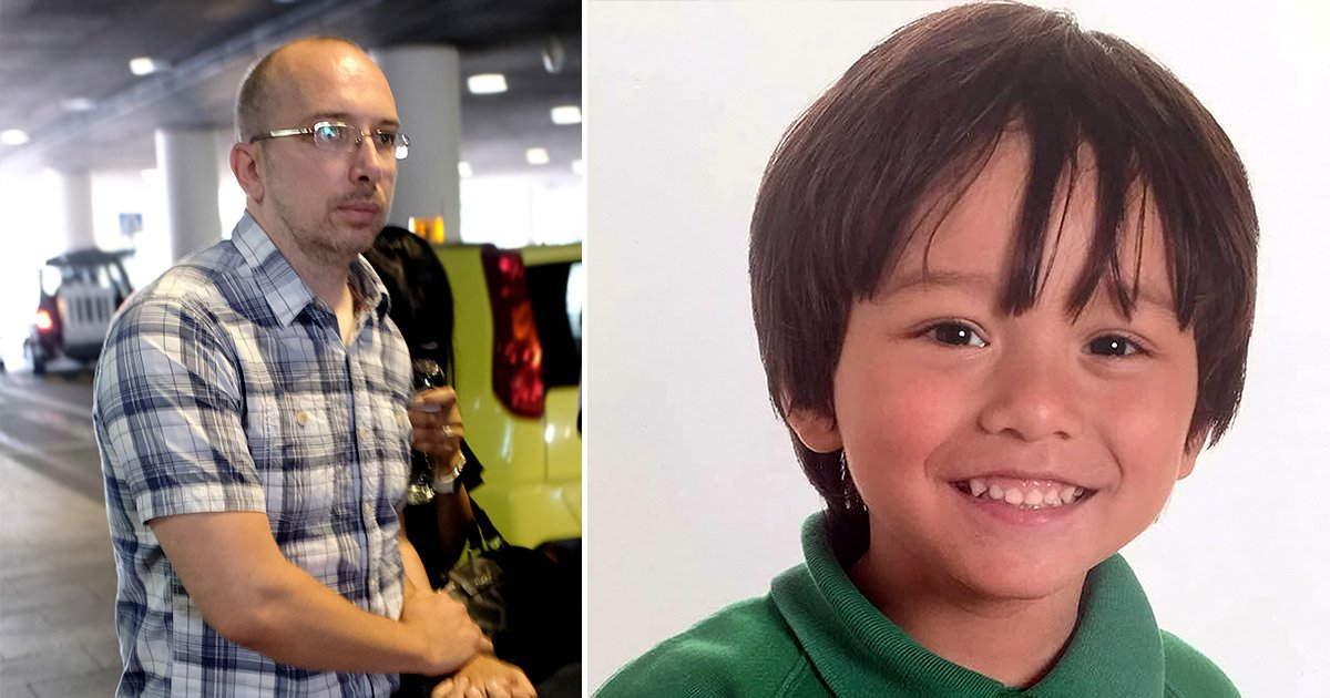 Missing boy's father taken to forensic centre after landing in Barcelona after attack