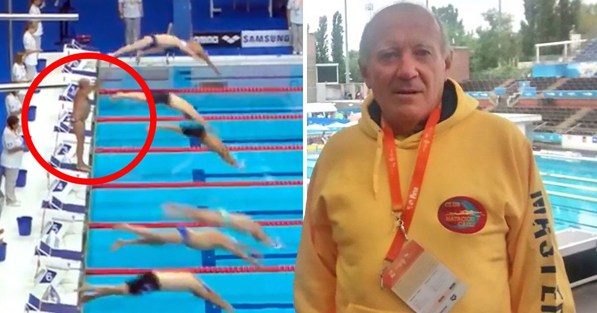 Swimmer holds his own minute's silence in memory of Spain terror attacks victims