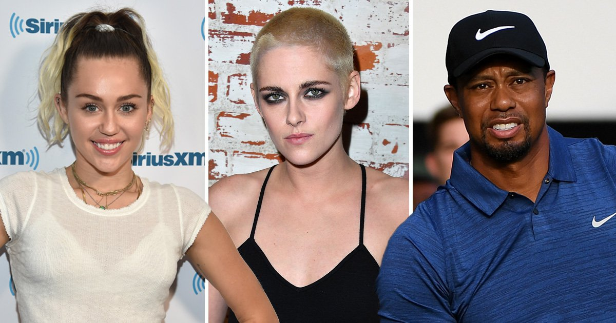 Private images of celebs including Miley Cyrus, Kristen Stewart and Tiger Woods leak online