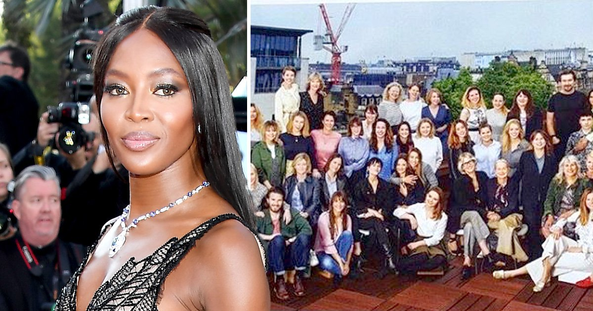 Naomi Campbell throws shade at Vogue editor with Instagram snap showing lack of diversity amongst staff