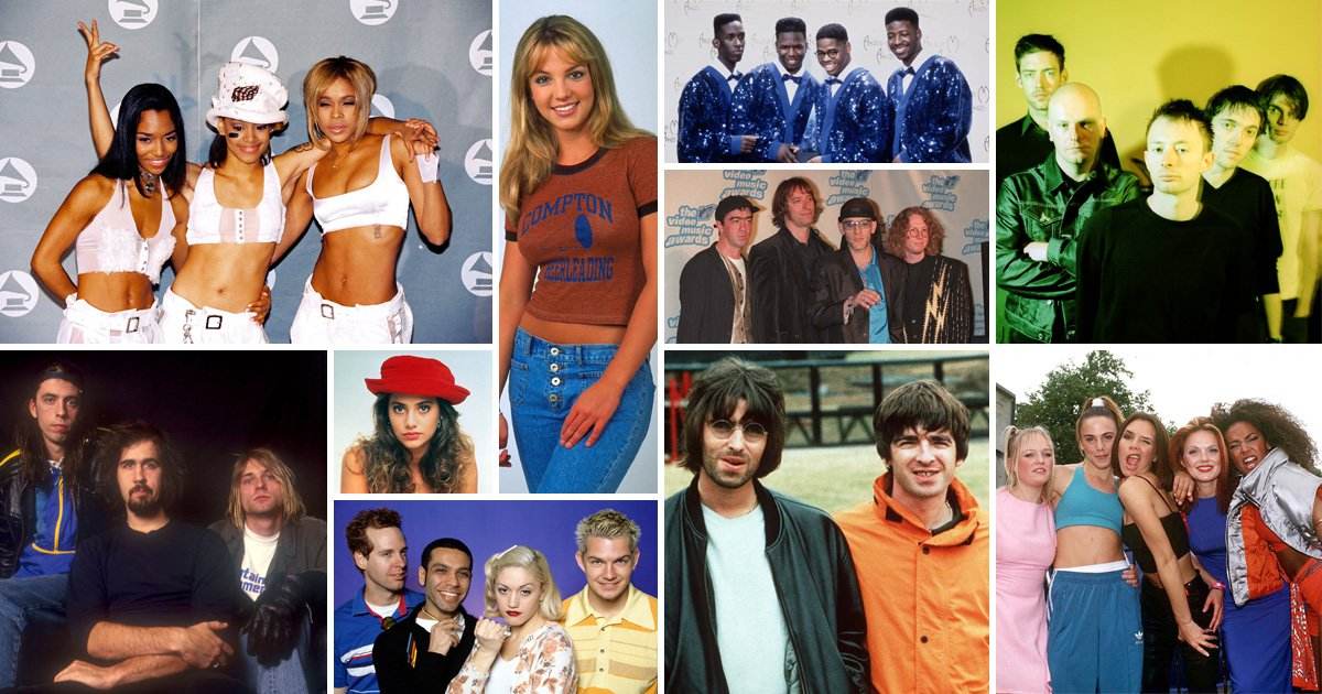 15 songs that will give you 90s nostalgia